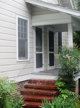 125 North St. side porch