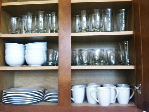 Dishware and glassware