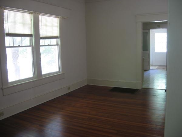 Room west side of living room