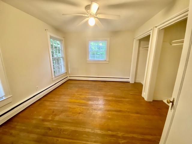 Downstairs bedroom behind living room